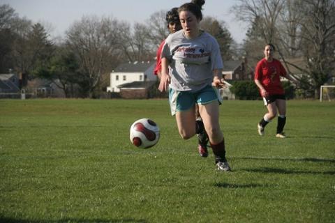 Ari Berkowitz '12 dominates at Coed Soccer